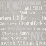 Words Wallpaper Manhattan WRD 6442 90 78 WRD64429078 By Caselio